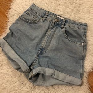 Zara mom shorts